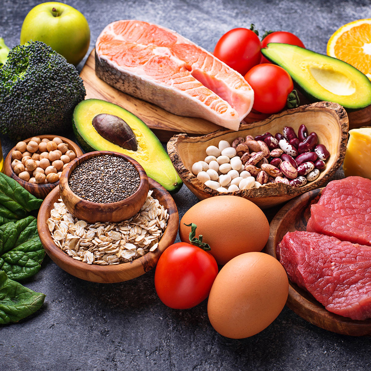 Dieta mediterránea con nutricionista en Clínica Heseya