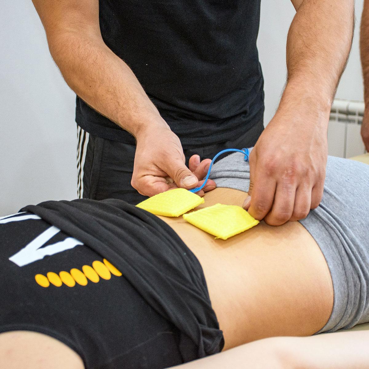 Electroestimulador profesional de fisioterapia en El Campello, Alicante